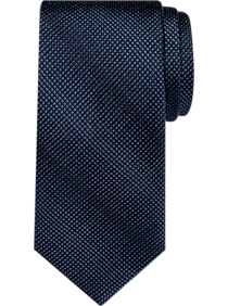 Awearness Kenneth Cole Navy Gradient Grid Narrow Tie