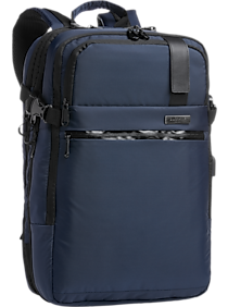 Duchamp Navy Expandable Backpack Suitcase