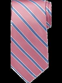 Tommy Hilfiger Pink Stripe Narrow Tie