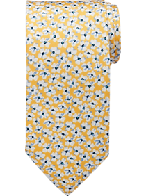 Mens Ties, Accessories - Tommy Hilfiger Yellow Floral Tie - Men's Wearhouse