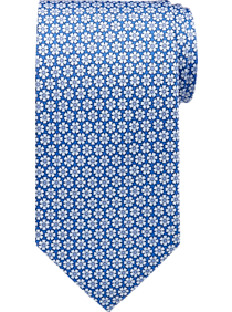Tommy Hilfiger Blue Floral Narrow Tie