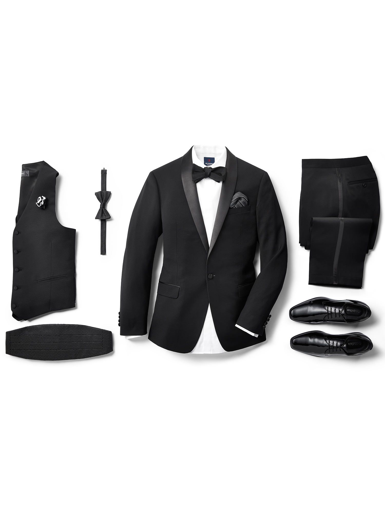 Mens Pre-Styled Looks, Suits - Black Tie Options - Men's Wearhouse