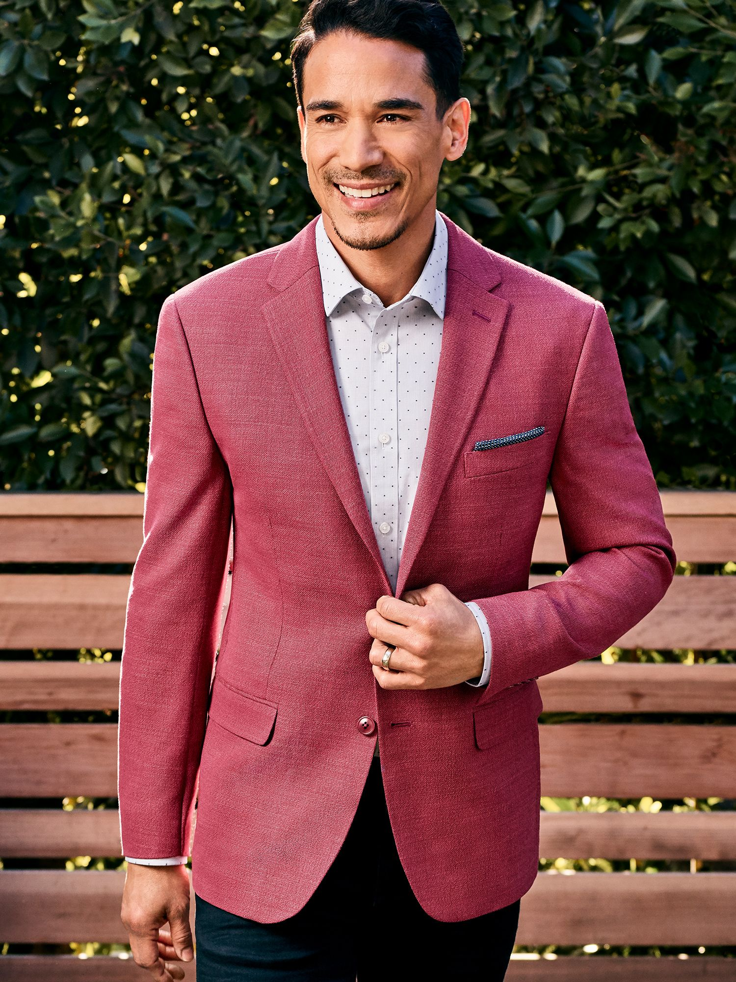 Mens Pre-Styled Looks, Suits - Well Red - Men's Wearhouse
