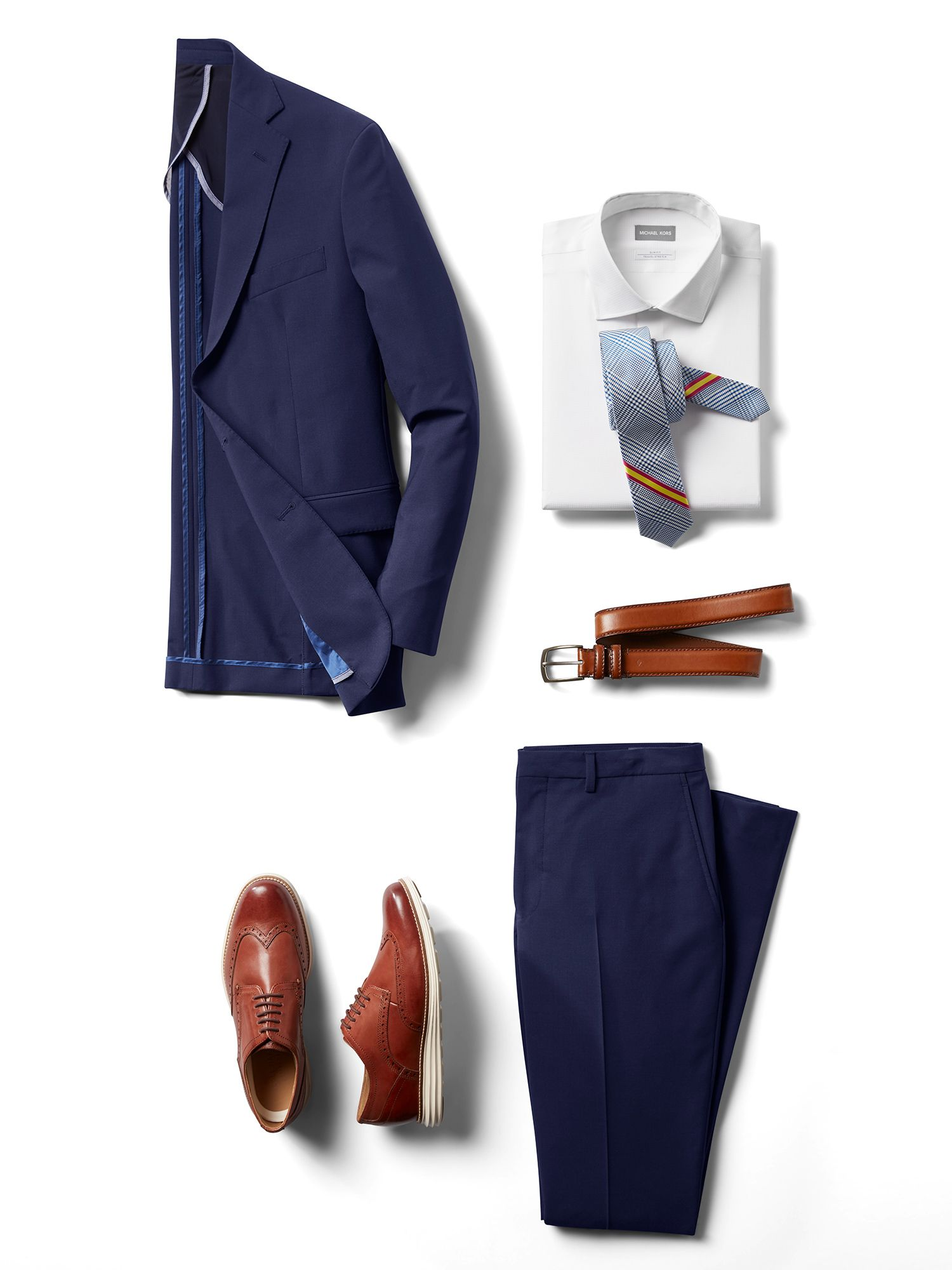 Mens Pre-Styled Looks, Suits - Royal Navy - Men's Wearhouse