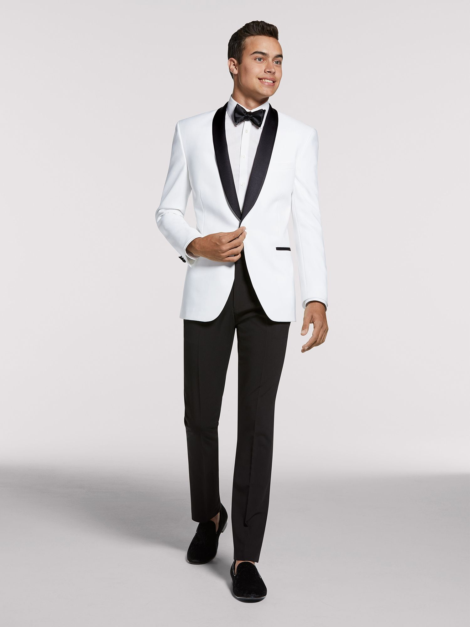 Mens Pre-Styled Looks, Suits - Black & White Night - Men's Wearhouse